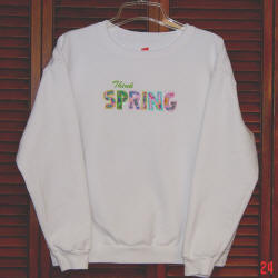 Think Spring Sweatshirt by Betty