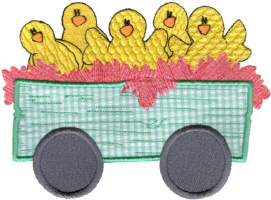 Easter Chix Car.jpg (64469 bytes)