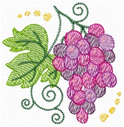 Jacobean Grapes Lite