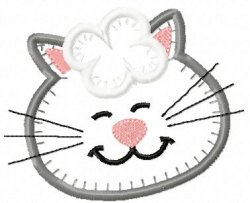 Jiffy Applique Kitty