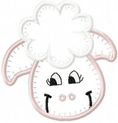 Jiffy Applique Lamb
