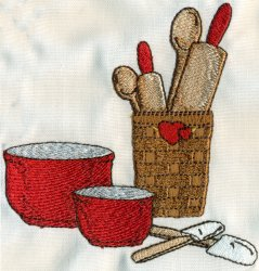 Baking Bowls Basket