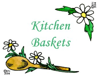 Kitchen Baskets Machine Embroidery Designs