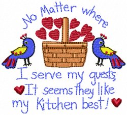 Serve Guests Basket