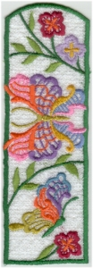 Lacy Butterfly Bookmark4
