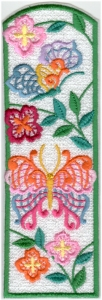 Lacy Butterfly Bookmark6
