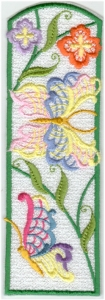Lacy Butterfly Bookmark9