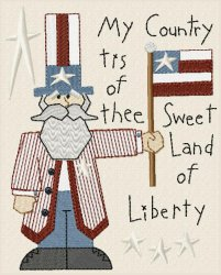 Sweet Land of Liberty Primitive