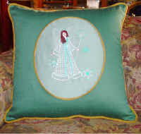 Cameo Pillow with RW Snow Angel.72.jpg (54760 bytes)