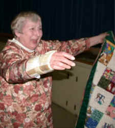 Twila and quilt.jpg (29705 bytes)