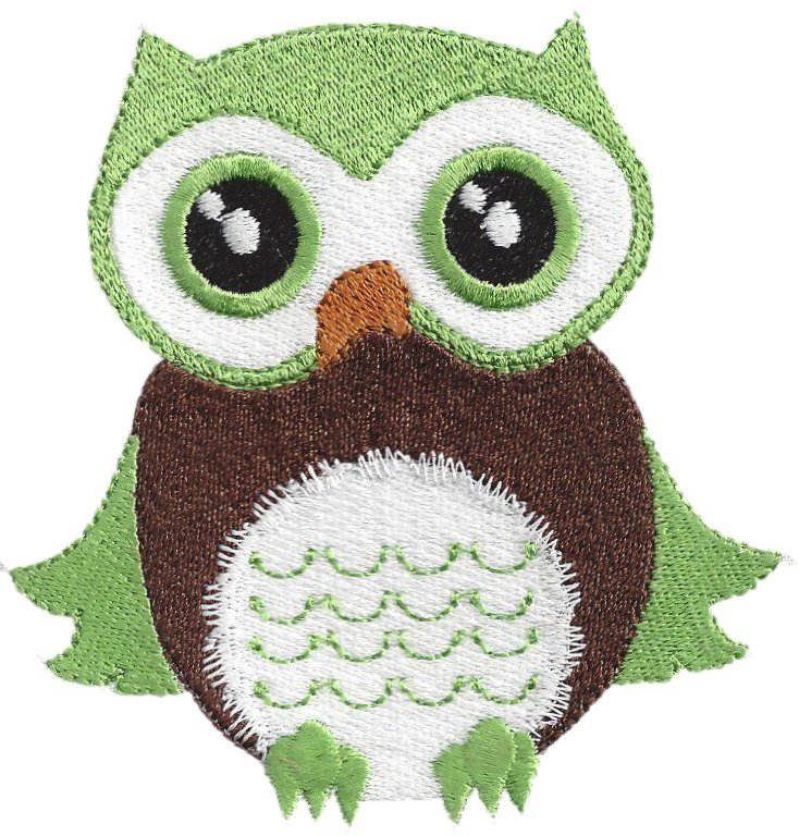 Baby Boy Owls Machine Embroidery Designs