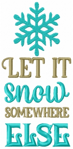 Let It Snow Word Play