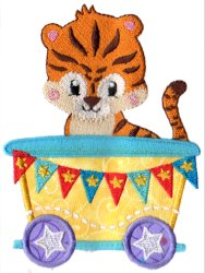 Circus Tiger Car Applique