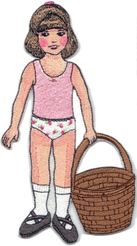 Clara August Paper Doll