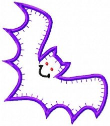 Jiffy Bat Applique