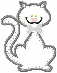 Jiffy Cat Applique