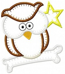 Jiffy Owl Applique