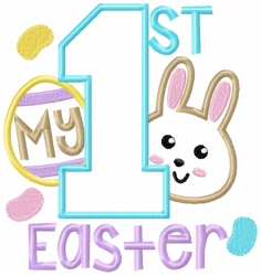 My First Easter Applique