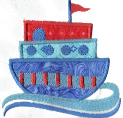 Applique Boat 4