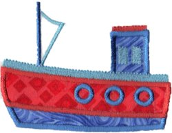 Applique Boat 5