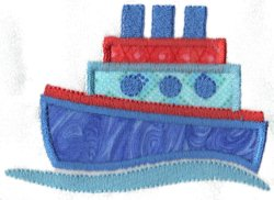 Applique Boat 6