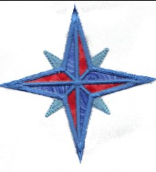 Applique Compass