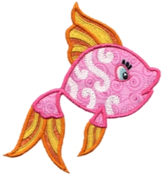 Tropical Fish Applique 05